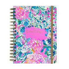 2018 LILLY PULITZER Monthly Weekly Agenda Planner Calendar w Tabs LARGE - Gypsea
