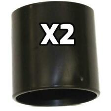 """Shop Vac Black Plastic Adapter Hose Coupler Two 2-1/2"""" Cuffed Hoses Together"""