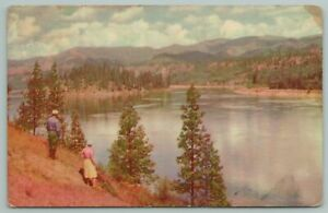 Idaho~Pend Oreille River~Popular Resort Area Surrounded By Timber~Vintage PC