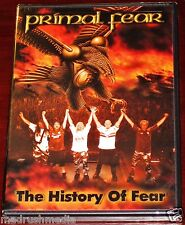 Primal Fear: The History Of Fear DVD + CD Set 2003 Nuclear Blast USA 1044-9 NEW
