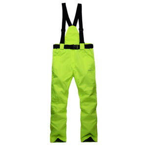 Winter Sports Ski Suit Men Women Waterproof Thick -30 Warm Ski Jacket Pants Coat