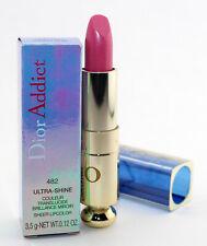 Dior Addict Ultra Shine Sheer Lipcolor Lipstick 482 Shiniest Petal New In Box