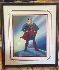 Superman Original Hand-Painted Ltd Ed Animation Cel (COA/Warner Bros, Fleischer)