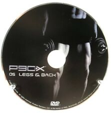 P90X 05 Legs and Back Dvd Home Fitness Workout Replacement Disc Beachbody