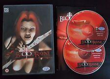 BloodRayne - PC CD-ROM - Free, Fast P&P! - Blood Rayne