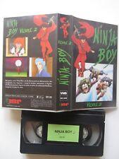 Ninja boy volume 2, VHS, Dessin animé, RARE INEDIT DVD!!!