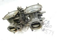 Honda Cb360 carburetors carb set bodies rack bank carbs CL360 74 1975 76 cb360T