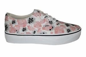 Womens Vans Doheny Platform California Poppy Floral Trainers