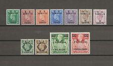More details for boic somalia 1950 sg s21/31 mint cat £35