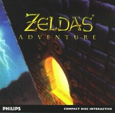 PHILIPS CDI ZELDA'S ADVENTURE GAME SPIEL JEU CD-I ZELDA GAME MAGNAVOX LINK