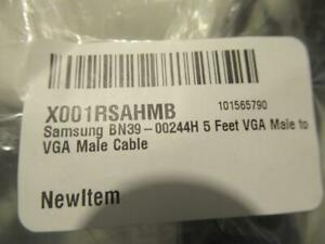 Samsung BN39-00244H VGA Male to VGA Male Cable 5 Feet