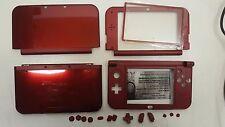 COVER CASE SCOCCA DI RICAMBIO NINTENDO NEW 3DS XL COLORE ROSSO SHELL NEW 3DSXL