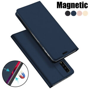 For Samsung Galaxy S20 Ultra A9 A8 2018 S10 Magnetic Wallet Card Flip Case Cover