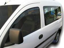 Vauxhall Combo Van mk2 2002-2011 Front wind deflectors  2pc set TINTED HEKO