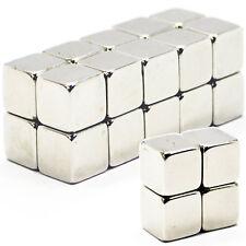 10pcs 12mm x 12mm x 12mm Strong Rare Earth 12mm Cube Neodymium Magnets