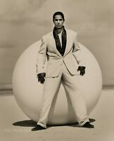1990 HERB RITTS Versace Male Fashion Model CAMERON White Suit Photo Art 11x14