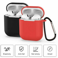 AirPods Silicone Case Keychain Protective Cover Skin For AirPod Charging Case