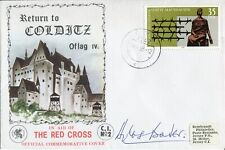 WW2 RAF ace Douglas Bader signed COLDITZ cover - UACC DEALER