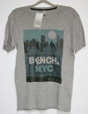 b4. Bench T-shirt avec motif taille XL gris neuf avec étiquette