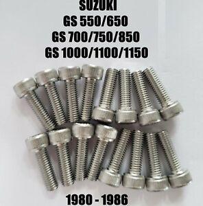 Carburetor Carb Float Bowl Screws Suzuki GS 550 650 700 750 850 1000 1100 1150