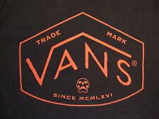 Vans Skateboards Skateboarding Shoes Clothes Apparel Black T Shirt M