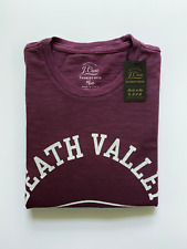 J Crew Mens Pocket T-Shirt (NWT) Death Valley Burgundy, UP TO 67% OFF MSRP
