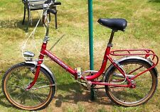 Folding Bike Cinzia well used and needs attention with faulty back brake