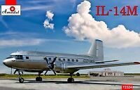 Amodel 72334 - 1/72 Ilyushin IL-14M, scale plastic model kit