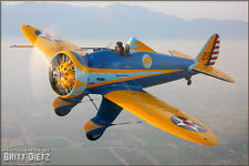 """BOEING P-26A  """"PEASHOOTER""""  48 INCH WING   RC AIrplane Rolled Plans & Templates"""