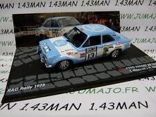 voiture 1/43 IXO Altaya Rallye : FORD Escort MKI RS 1600 RAC Rally 1973 Mäkinen