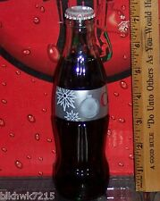 2007 TARGET CHRISTMAS  ORNAMENT & SNOWFLAKE 8OZ DIET COKE BOTTLE