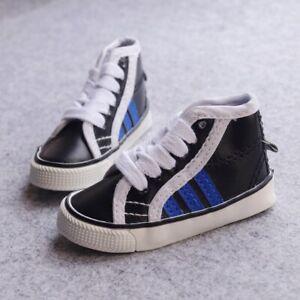 "BJD Black Short Sports Shoes For Male 1/3 24"" 60cm BJD doll AOD SD DOD DK DZ"