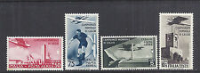 1934 Airmail/Airpost Italy 2nd Soccer/Futbol World Cup - C62-65/484-487 MNH*