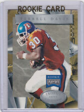 TERRELL DAVIS Playoff 1996 ROOKIE CARD Denver Broncos Football NFL RC