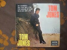 SPAIN EP TOM JONES - Not Responsible +3 / Decca  SDGE 81 160  (1966)