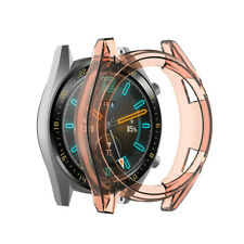 For Huawei Watch GT /Active 46mm TPU Protective Bumper Watch Frame Case Cover CA