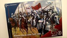 Perry Miniatures WR40 - Mounted Men at Arm 1450-1500 - PLASTIC BOX SET