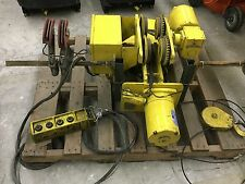 Yale KEW1-19RT30S2 1 Ton Capacity Hoist 2000 lb