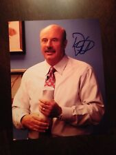 Dr. Phil McGraw Signed Autographed 8x10 Photograph Doctor