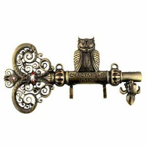 """Screw fixation,Wall Door Hook Hanger.living room & Kitchen vintage hook.""""The key"""