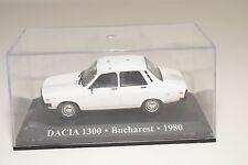 . ALTAYA IXO DACIA 1300 BUCHAREST 1980 WHITE EXCELLENT BOXED