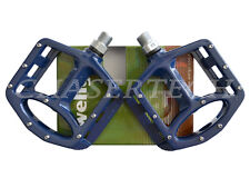 "New Wellgo MG-1 BMX Bicycle Bike Magnesium Pedals 9/16"" Blue"