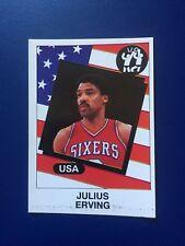1986 Panini CARD Sticker Julius Erving Basketball Supersport #133 New !!!