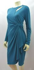 CATHERINE MELADRINO FAUX WRAP DRESS SZ 8 NEW WITH TAG