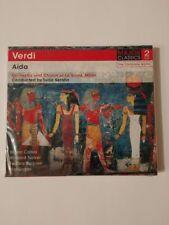 VERDI AIDA 2 CD BRAND NEW CD