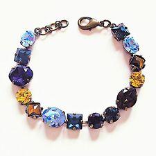 Sorrelli Swarovski Multicolor Crystal Bracelet KEY DESIRE COLLECTION