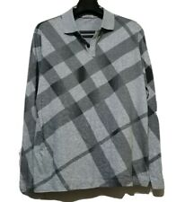 Burberry Plaid Grey Longsleeve Top
