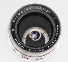 Meyer & Gorlitz 35mm f4.5 Primagon Exakta mount  #1830914