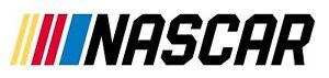 NASCAR Racing Vinyl Sticker Decal (6x3 Waterproof Indoor/Outdoor)