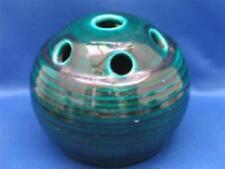 Green European Art Pottery Vases